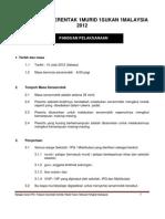 Panduan Pelaksanaan Senamrobik 1m 1s Update 8 Jun 2012 Terkini