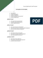 Curso Optimizacion de Procesos