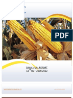DAILY AGRI REPORT BY EPIC RESEARCH- 12 OCTOBER 2012