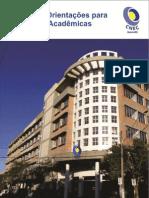 Manual de Orientações para Produções Acadêmicas - CNEC Osório