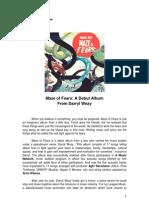 Press Release - Darryl Wezy - Maze of Fears