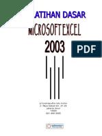 Pelatihan Dasar Mic.excel 2003