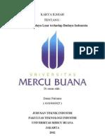 Karya ILmiah Budaya pengaruh dalam kehidupan bangsa Indonesia