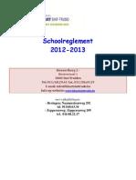 schoolreglement 2012-2013
