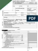 Form ITR2 2012-2013