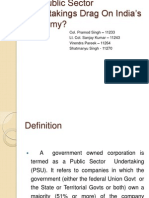 Are Public Sector Undertakings Drag on India Economy