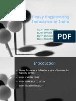 Heavy Engineering Industries in India