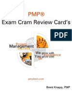 Complete Pmp Exam Review Cards