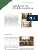 La constitución de 1917 y la consolidación de las instituciones