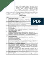 Secretariat Assistant Detailed Syllabus