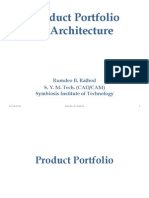 Product Portfolio Architecture Final