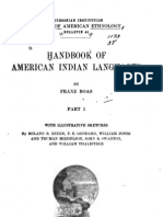 Franz Boas' introduction to the Handbook of American Indian Languages (1911)