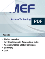 Carrier Ethernet Access Technology Options