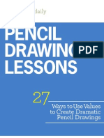 Pencil Drawing Lessons