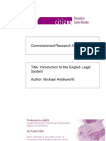 Oxford Introduction to English Legal System