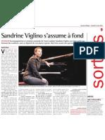 [2011-03-11] Sandrine Viglino s'assume à fond