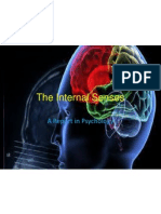 The Internal Senses