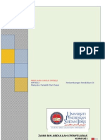 Penilaian Kerja Kursus Kpf 3012 (Ppgpjj) Sem 1 Sesi 1214