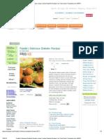 Falafel ( Delicious Diabetic Recipe) Recipe _ Indian Diabetic Recipes _ by Tarla Dalal _ Tarladalal