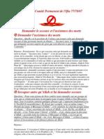 Fatwa Du Comité Permanent de l'Ifta 2
