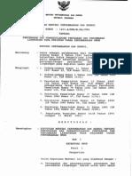 Kep Mentamben No. 1211. K-008-M.pe-1995Tentang Pencegahan Dan Penaggulangan Perusakan Dan Pencemaran Lingkungan Pada Kegiatan Pertambangan Umum