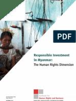 Occasional Paper 1 Burma Myanmar FINAL