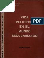 Clar - Vida Religiosa en El Mundo Secularizado