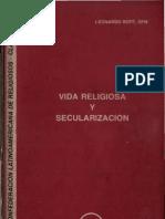 Clar - Vida Religiosa y Secularizacion