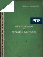 Clar - Vida Religiosa y Vocacion Bautismal