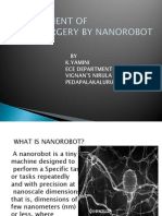 Replacement of Heartsurgery by Nanorobot