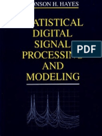 Wiley - Statistical Digital Signal Processing and Modeling