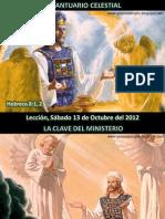 Lección 02 - El Santuario Celestial