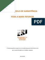 ESI Um modelo de subsistência para a Beira Interior_ESI