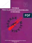 Pedoman Penatalaksana Kasus Malaria Di Indonesia
