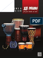 X8 Drums Musical Instrument Catalog