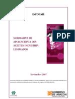 Informe Aceites Industriales Usados