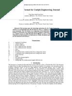 GEJ Manuscript Format