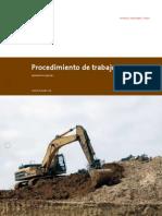 Procedimiento de Trabajo Seguro - Excavaciones y Zanjas