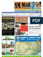 Tourism Mail Newspaper Zambia