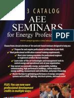 2013 Seminar Catalog