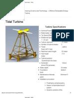 Tidal Turbine - NTNU
