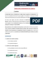 DP Résultats World Wide Views Biodiversité 2012