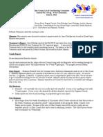 June 2012 Drug Free Minutes
