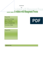 Assignment on how HRM is related to the Management Process