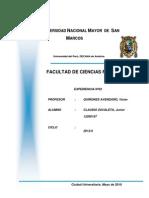 INFORME Nº02 FISICA I