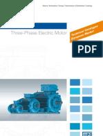 WEG w22 Three Phase Motor Technical European Market 50025712 Brochure English[1]
