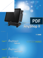 POSBank USA Introduction to AnyShopII, Rev001