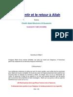 Le Repentir Et Le Retour à Allah