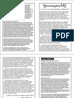 Depression - Leaflet - Dr.Judy