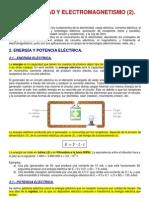 Tema 2. Electricidad y Electromagnetismo (Parte 2)